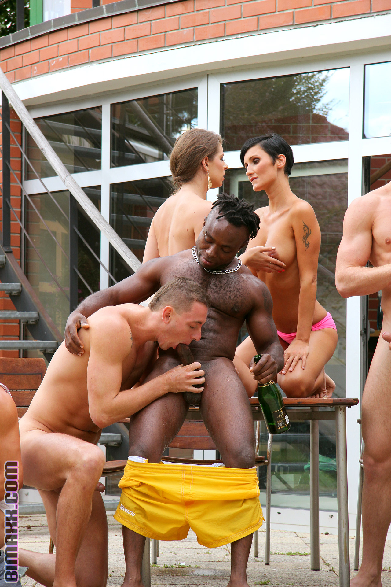 Outdoor Orgy MMF 2/3