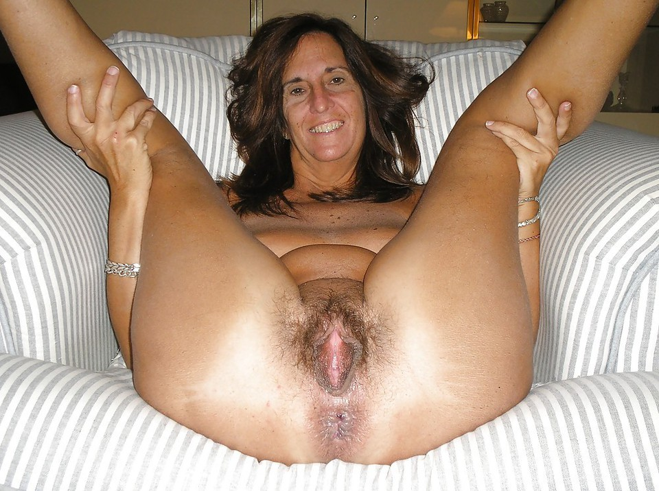 Mature Blonde Hairy Pussy Solo
