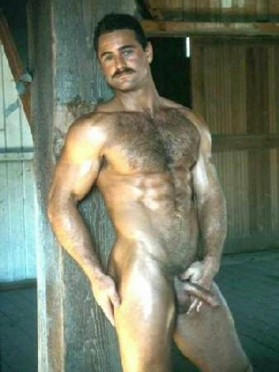 bears and very hairy men