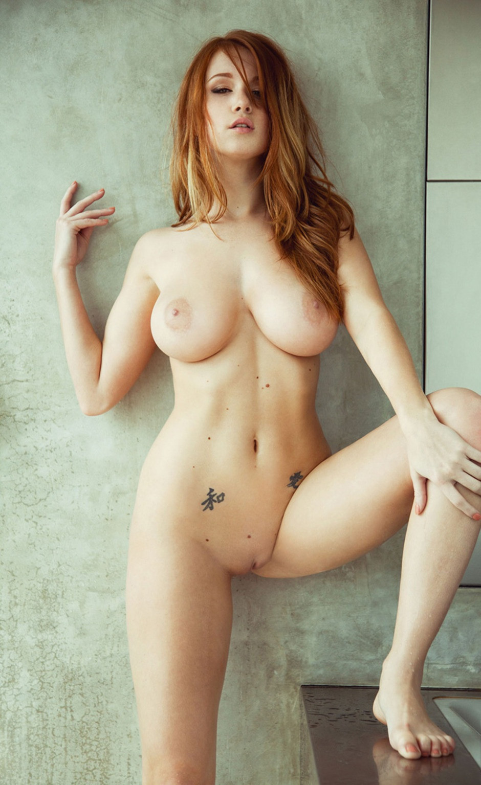 adult nude busty redheads