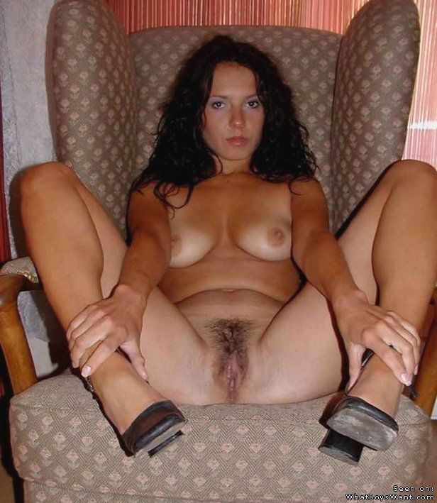 Hairy cunt of my mature wife!