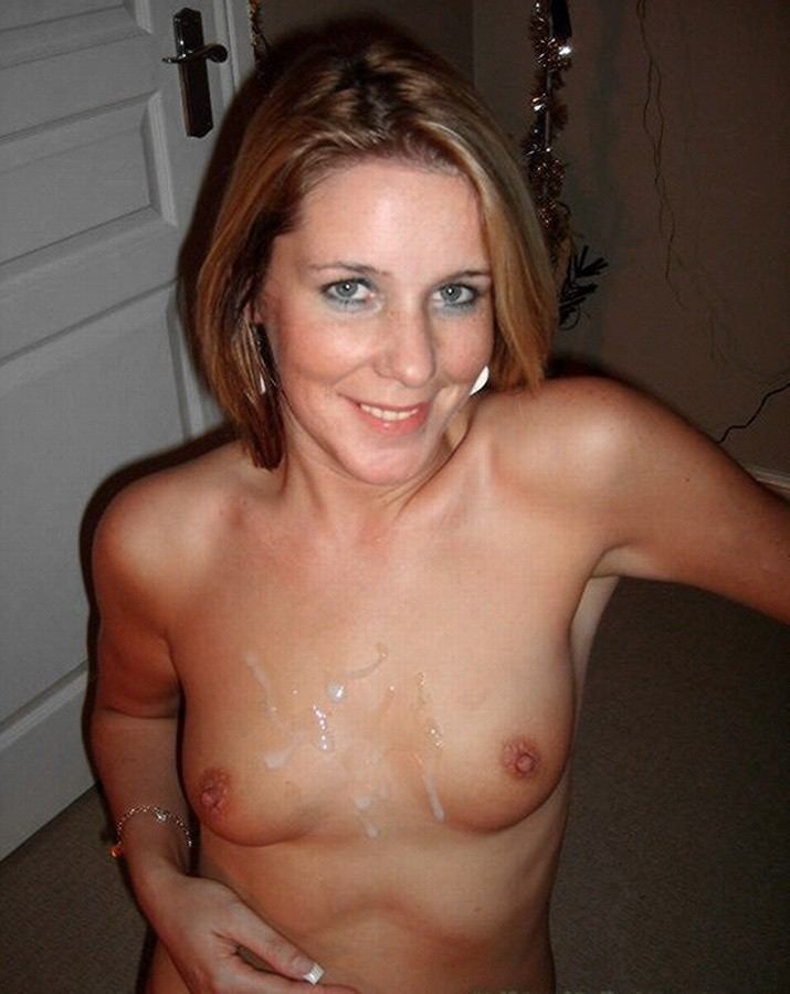 Cum covered amateurmilfs