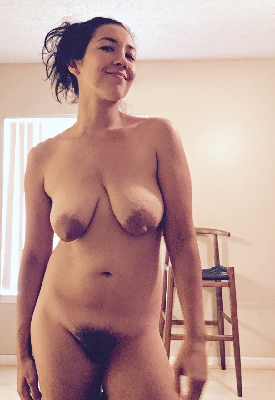 Hairy saggy milf