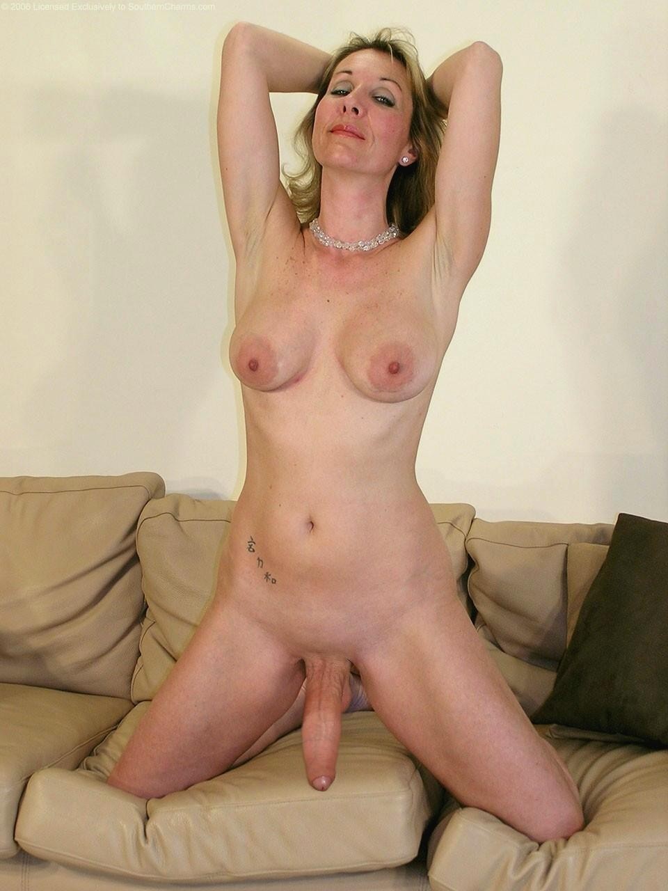 With big cock mature woman something