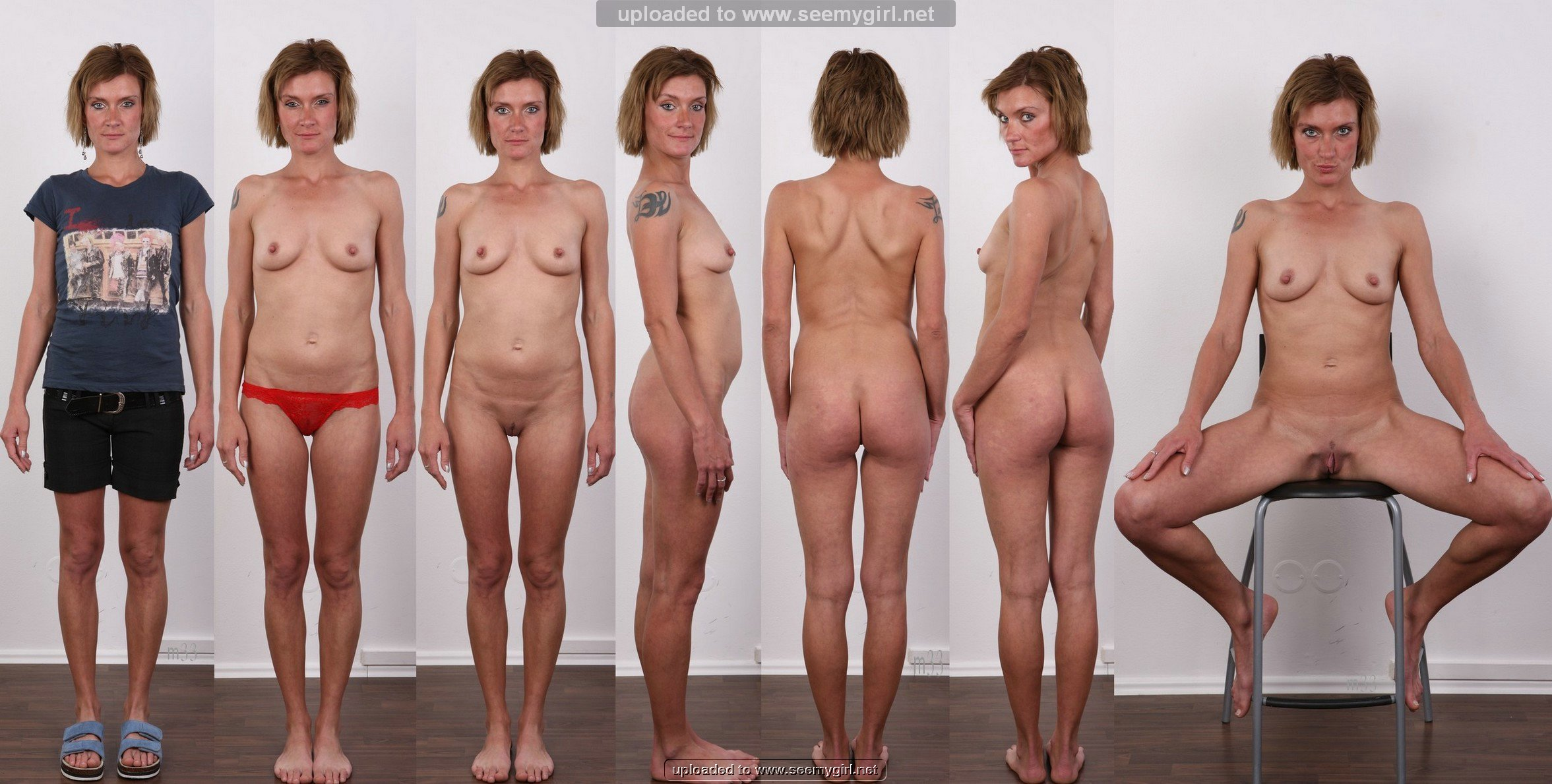 and clothed Naked