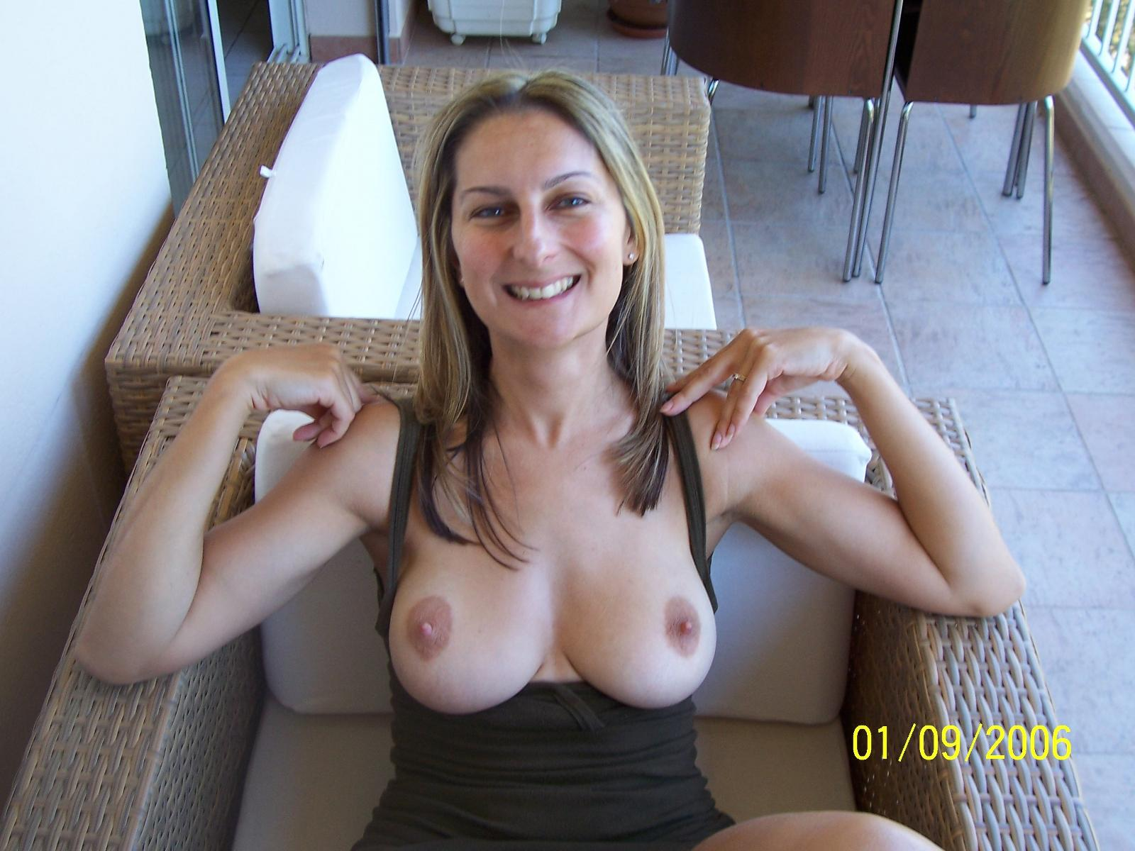 Milf real tits