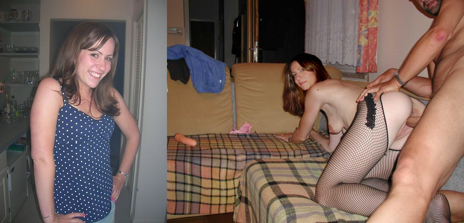 swinger after and wife Amateur before