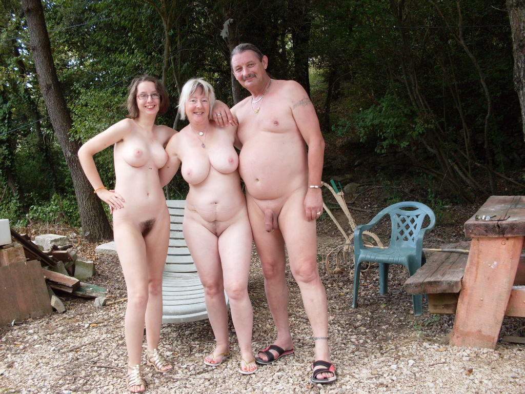 group grandmas nude