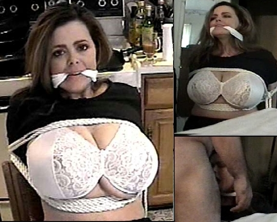 Big tits bound and gagged