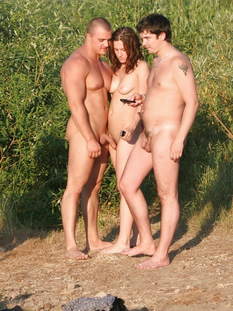 Point. naked family pics outdoors