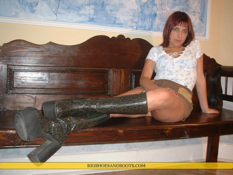 Big Shoes And Boots
