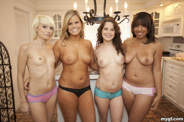 Seems Real nude group of girl