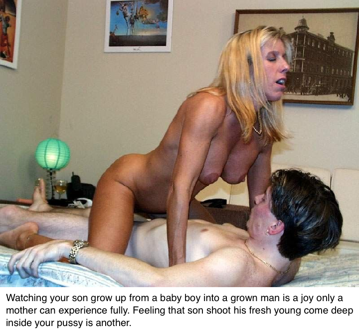 Sex captions mom son — photo 4
