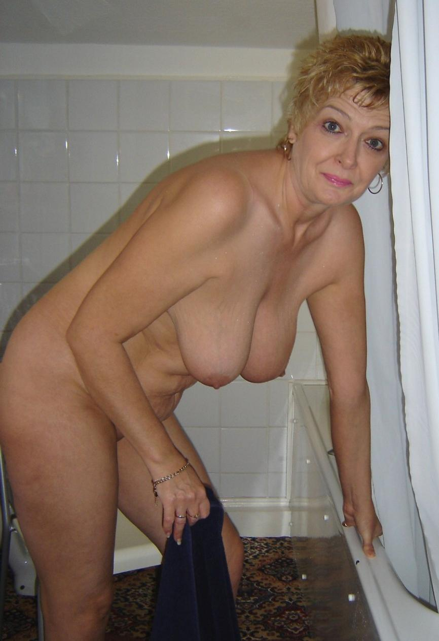 Mature woman bound