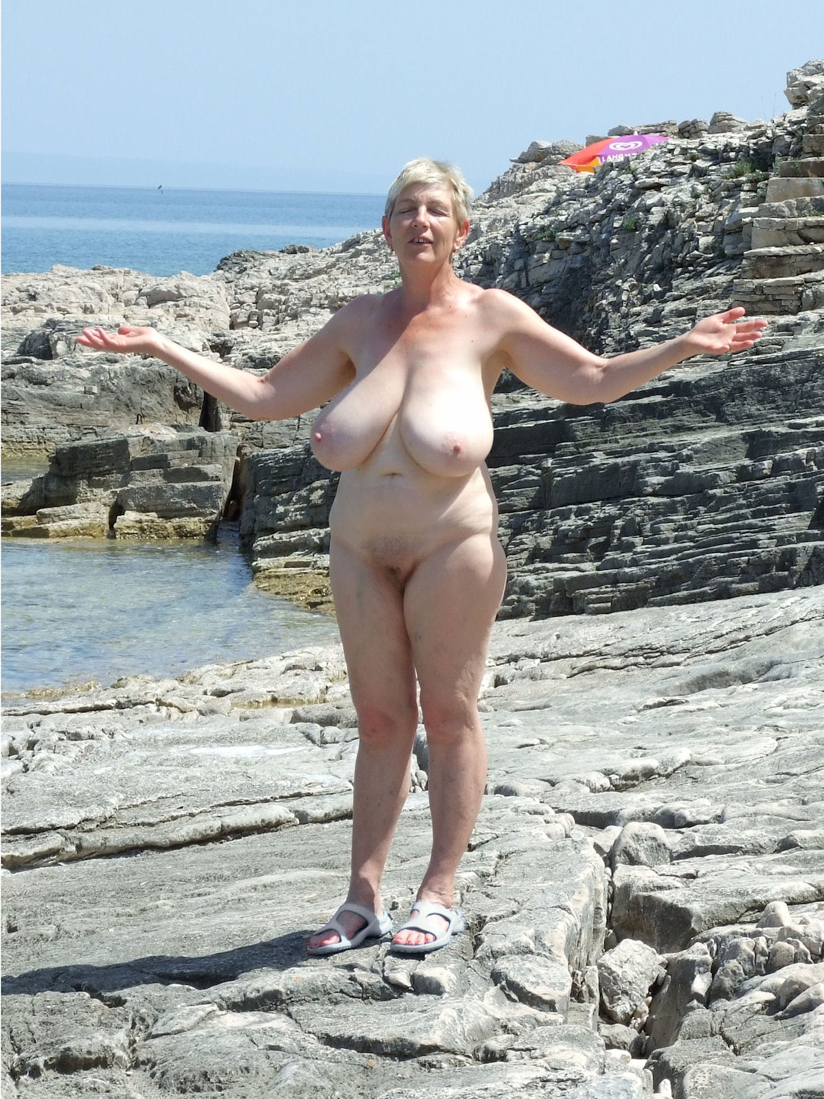 Tits with big older women