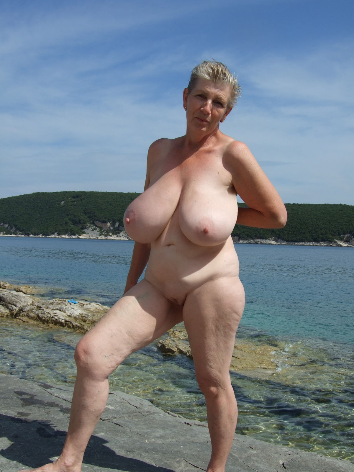 mature older big tits