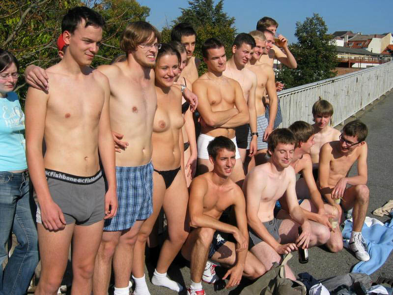 College Fraternity Intiation