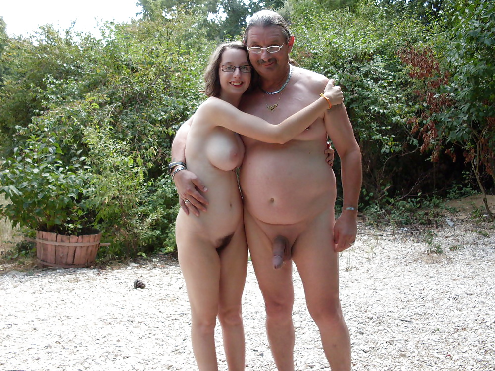 Daughter nudist family picture