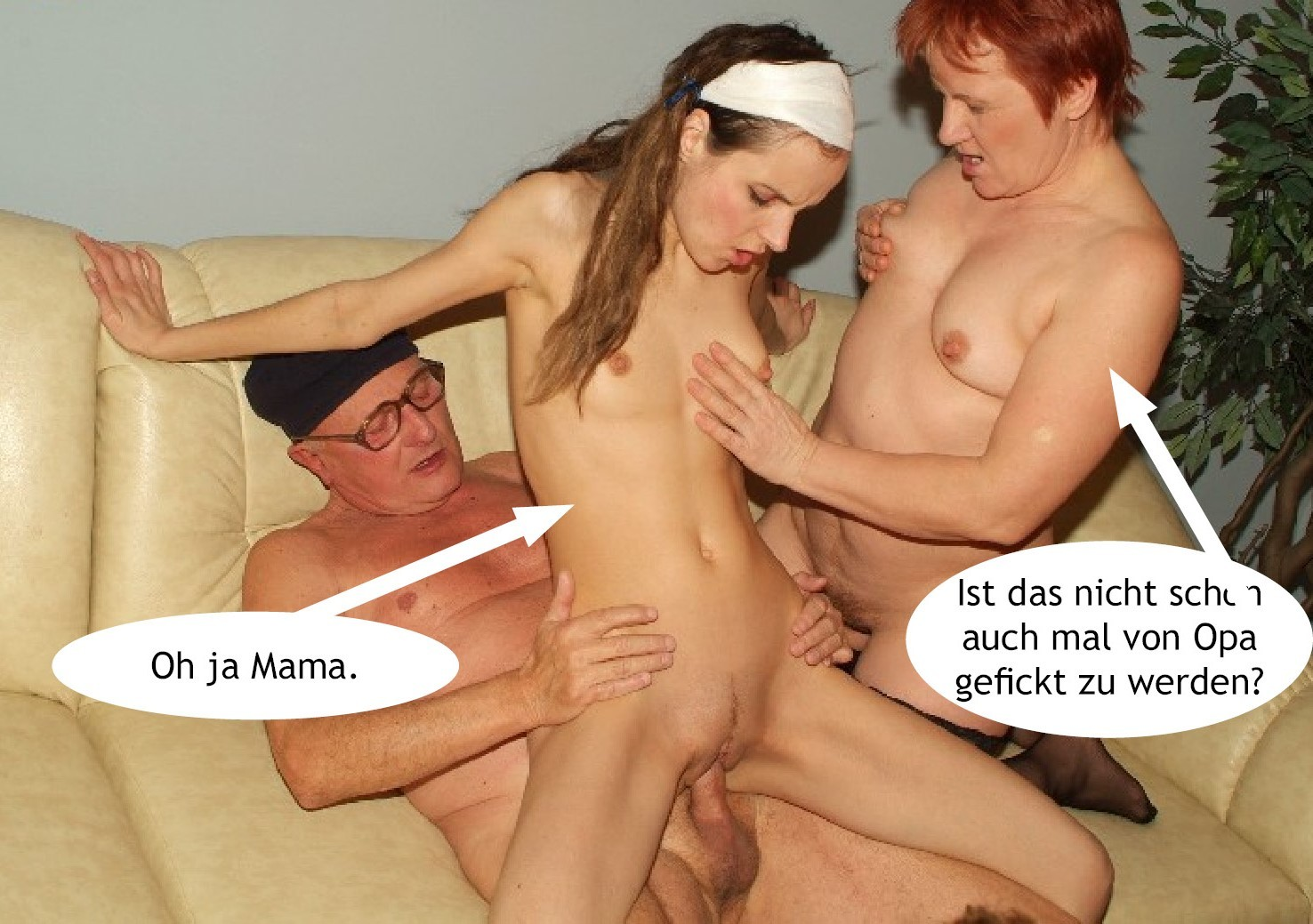 image German mother fucks young boy with big dick