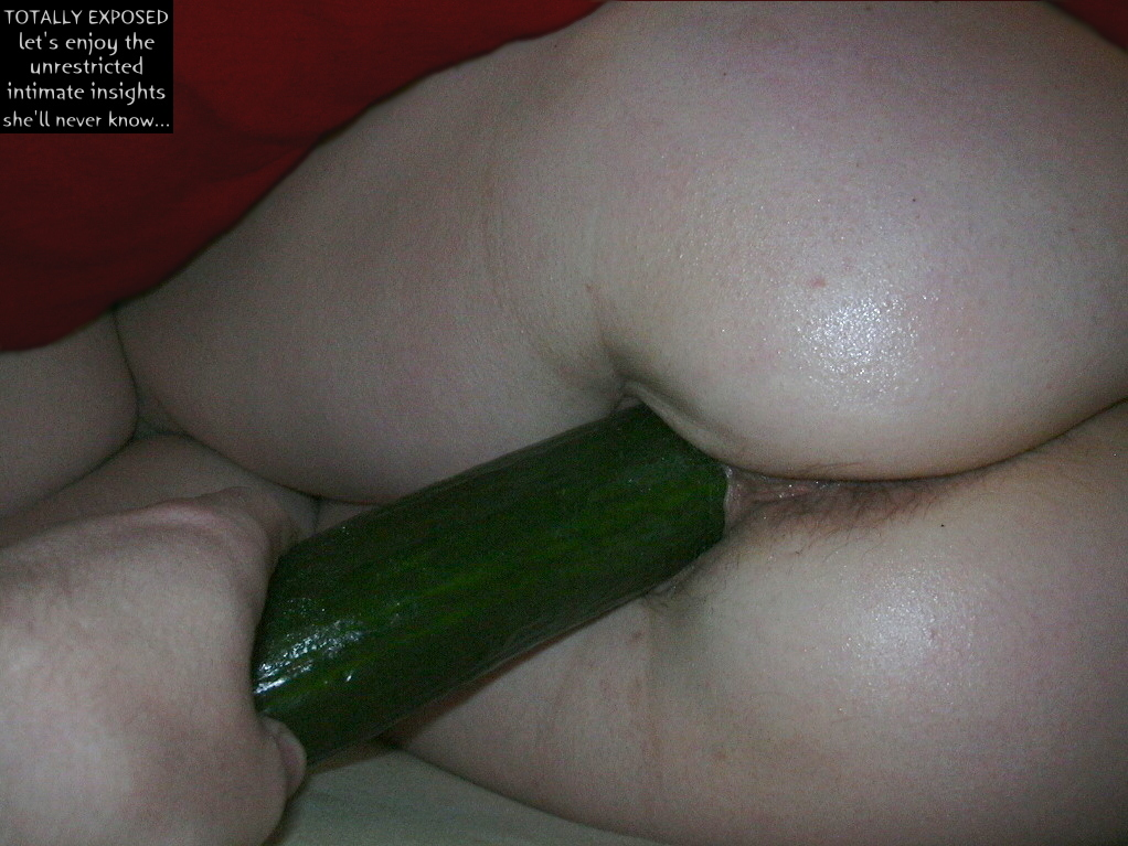 Have hit deep cucumber pussy congratulate