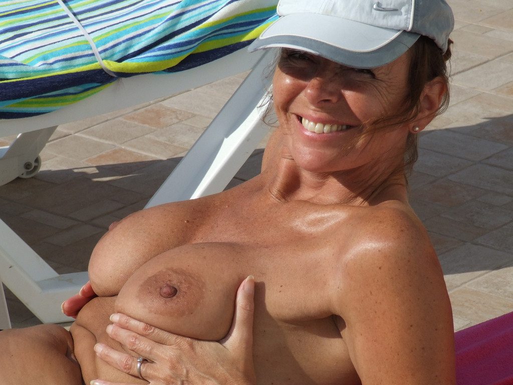 Simply excellent Hot busty milf nude beach something is