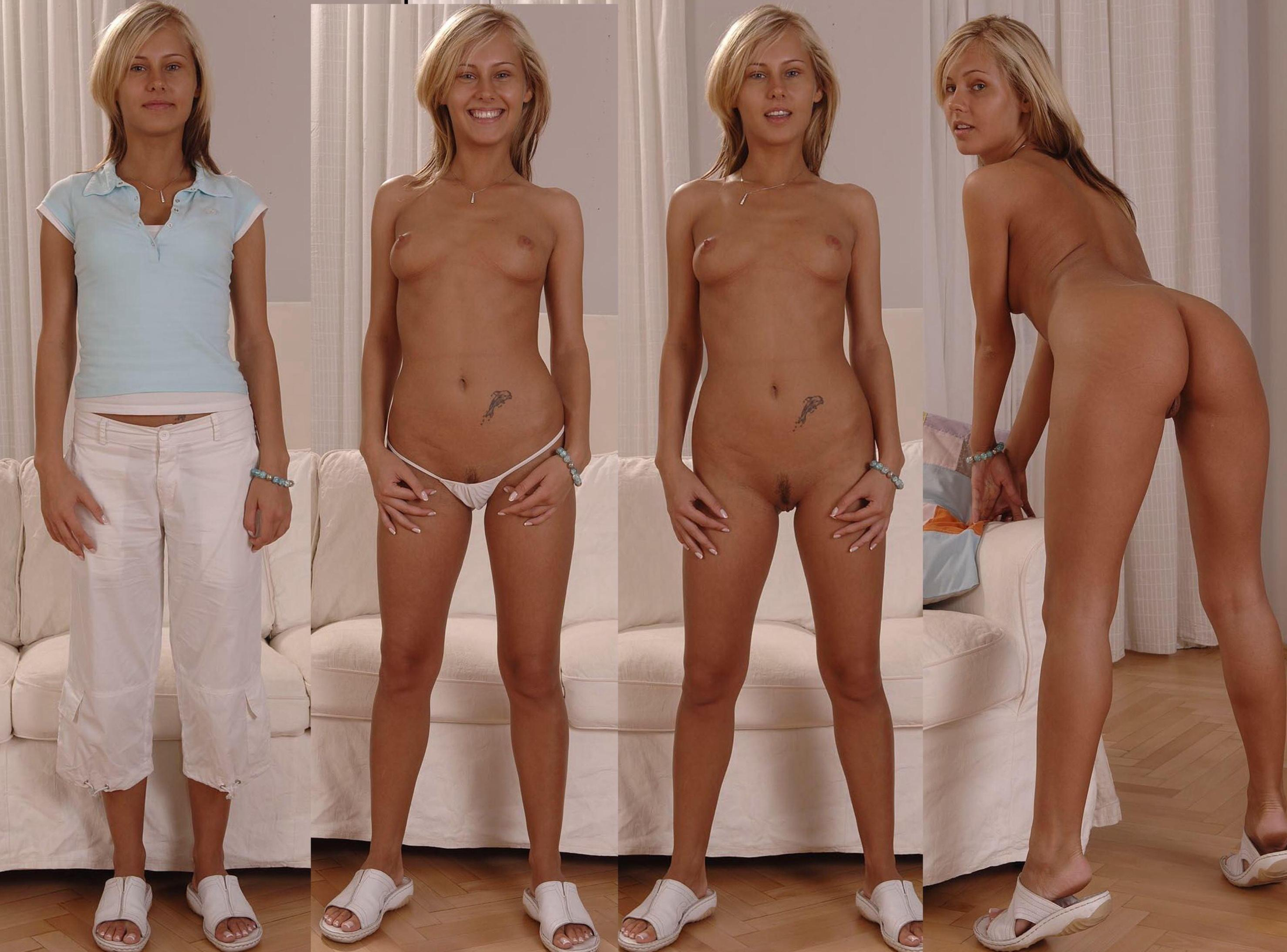 pics Naked clothed