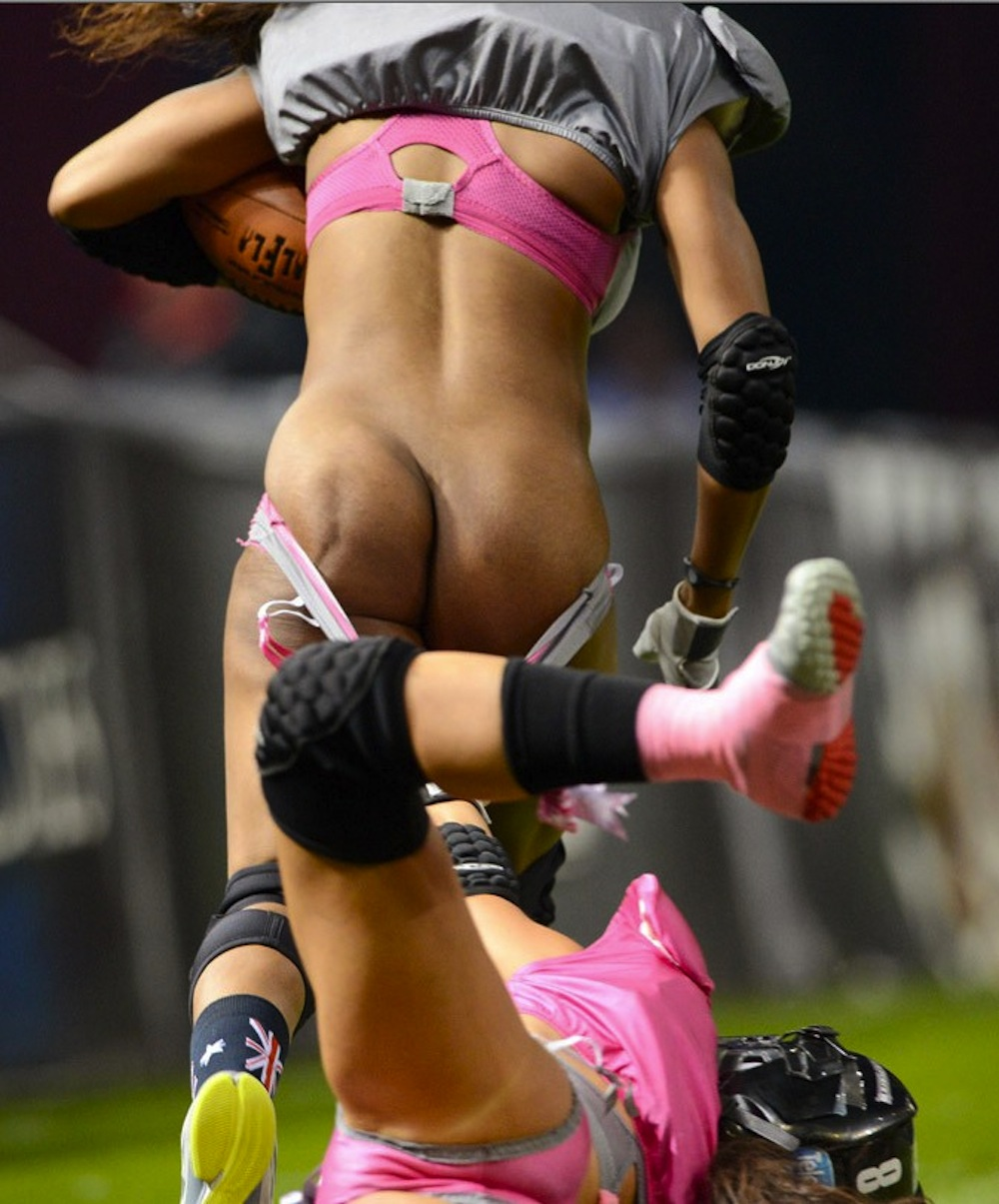 Lingerie football wardrobe malfunctions