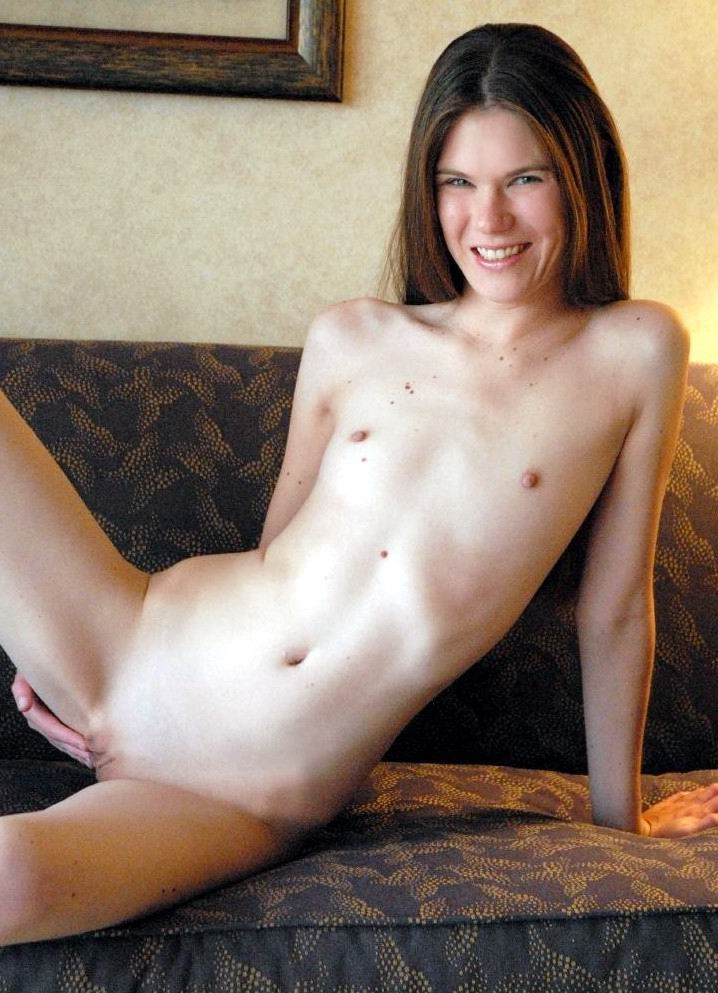 chested porn Flat woman