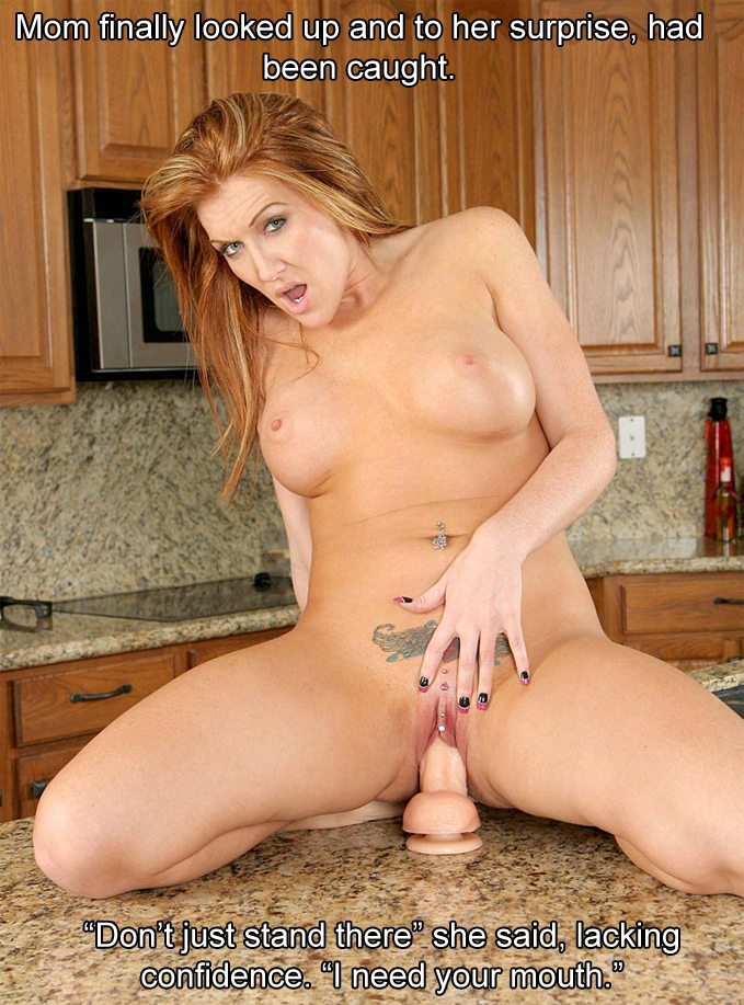 caption Mature mom porn