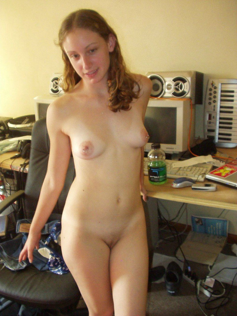 With pierced girls nipples college