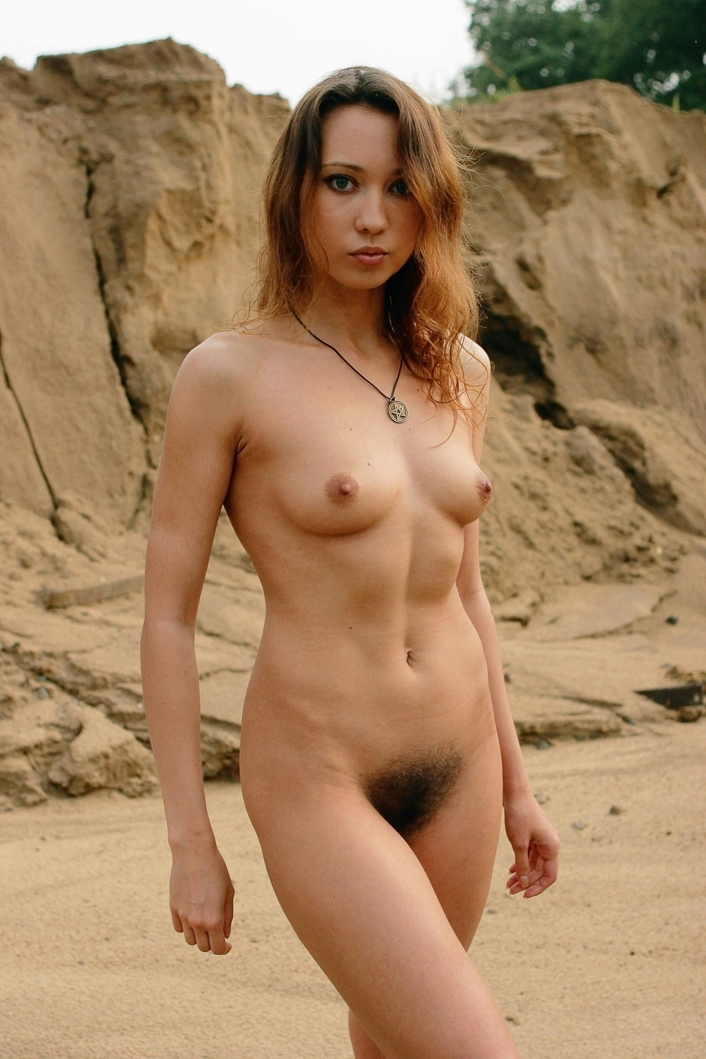 hairy nude young women