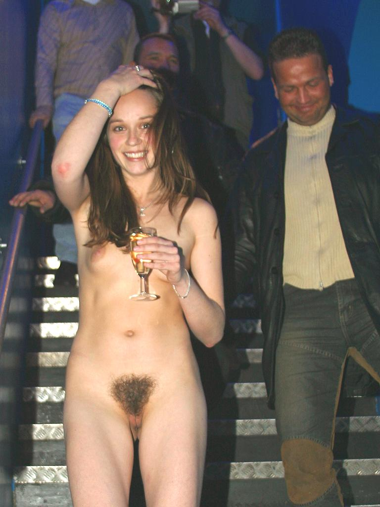 Girls naked in clubs