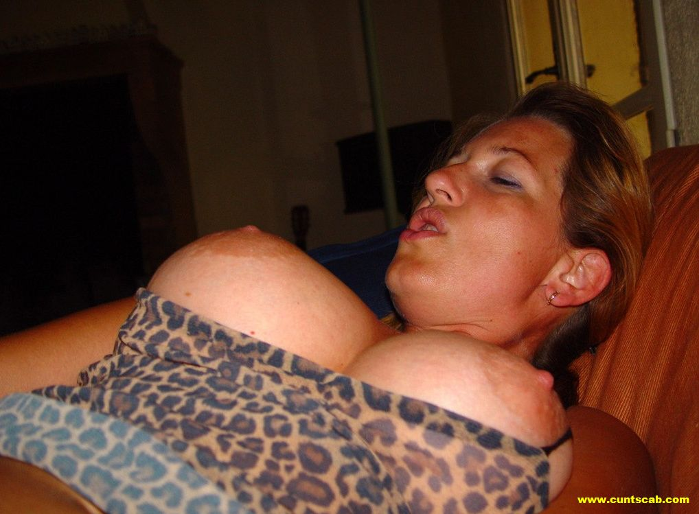 White girl big tits hairy pussy