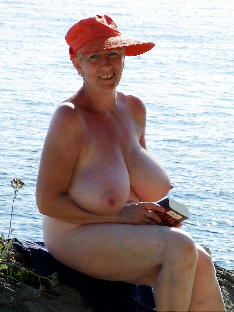 Nude grannies with big breast simply
