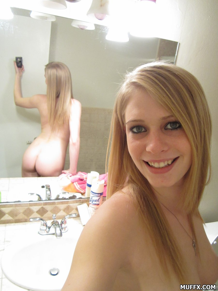 Young Skinny Blonde Teen Pov