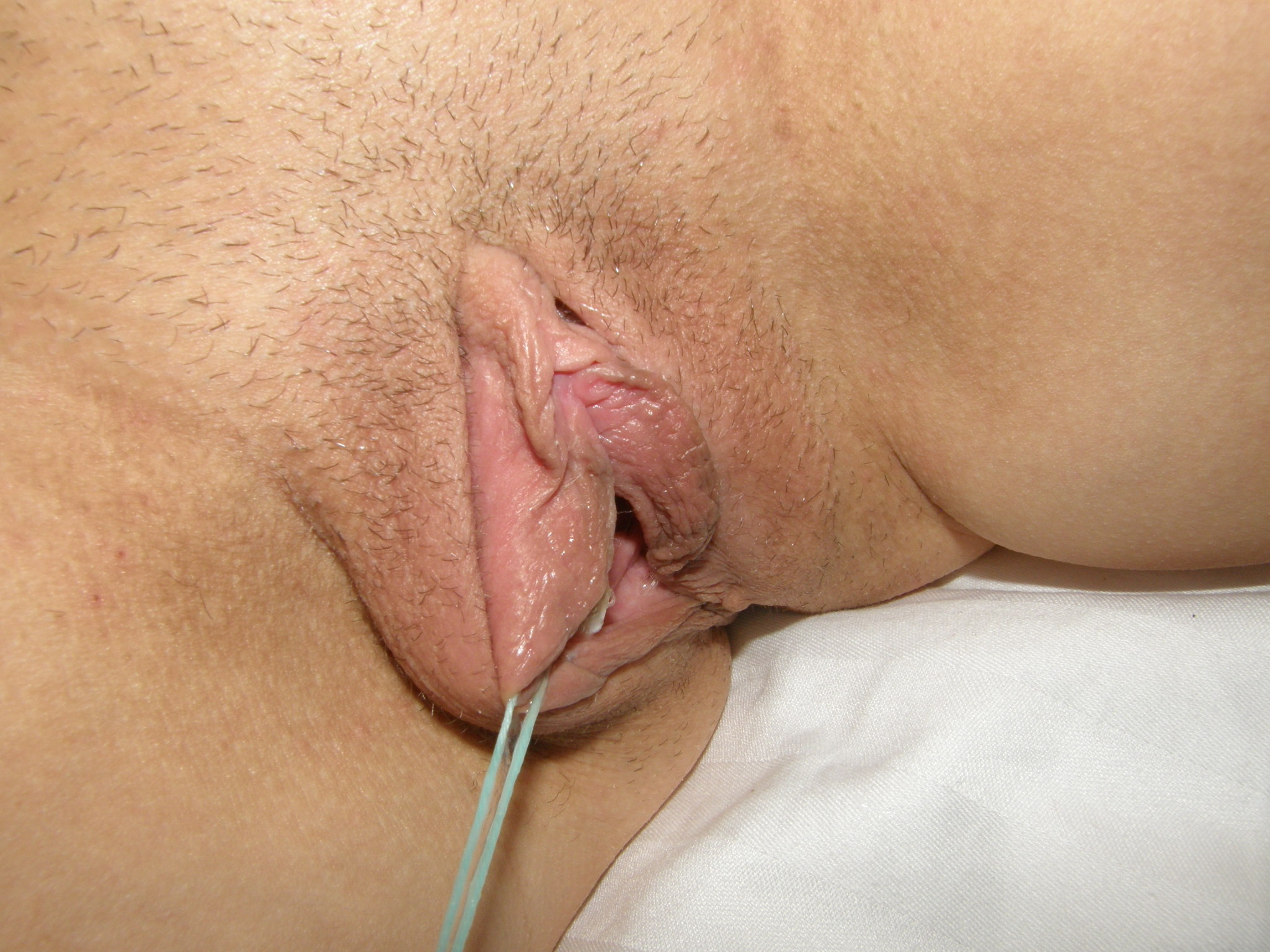Pussy With Tampon