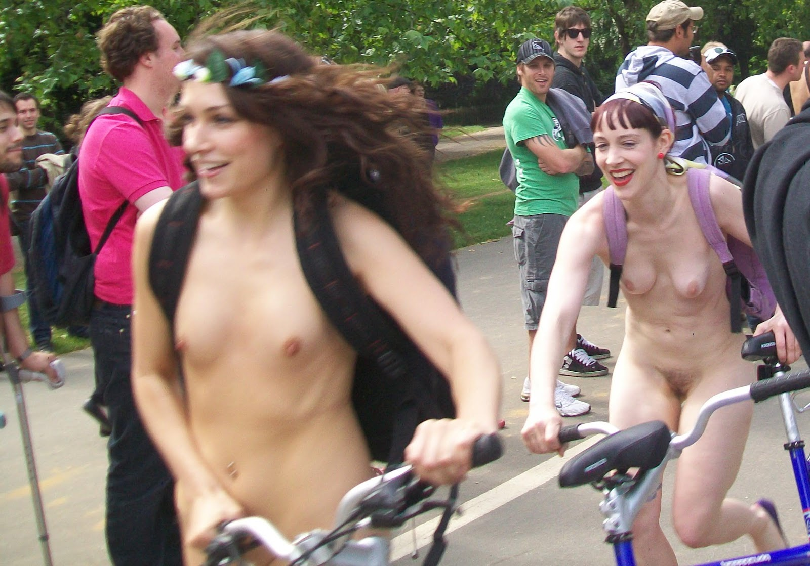 Cycling Pussy Naked Nude London Bicycle - Full Movie-1193