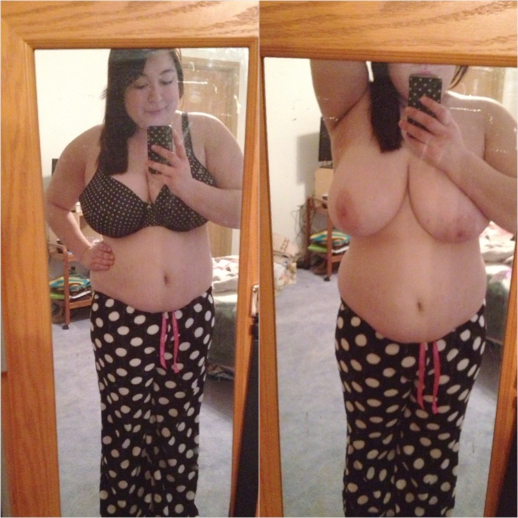 Big tit chubby girl self shots this magnificent
