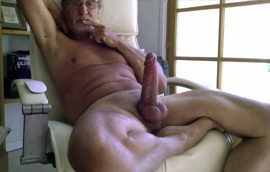 For Naked old mature cock