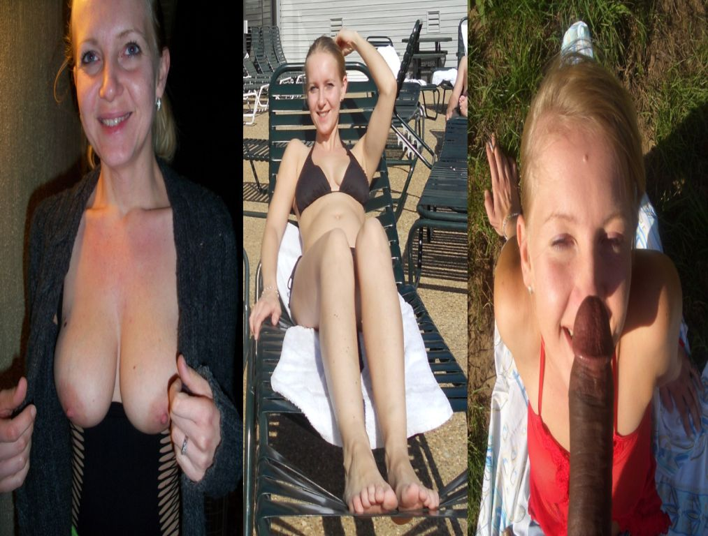 blonde undressed sexy Very wife dressed