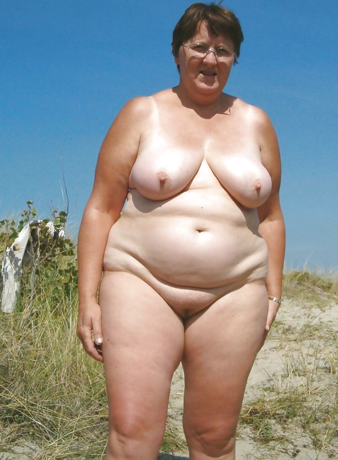 Fat granny nude beach thanks