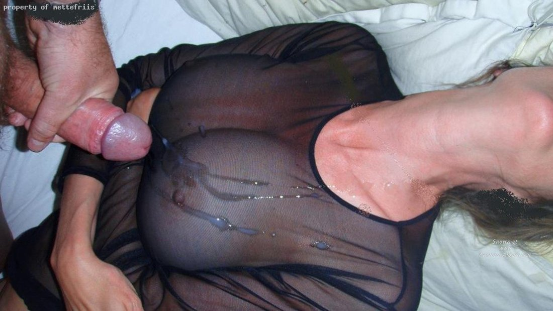 Cum All Over Her Pantyhose