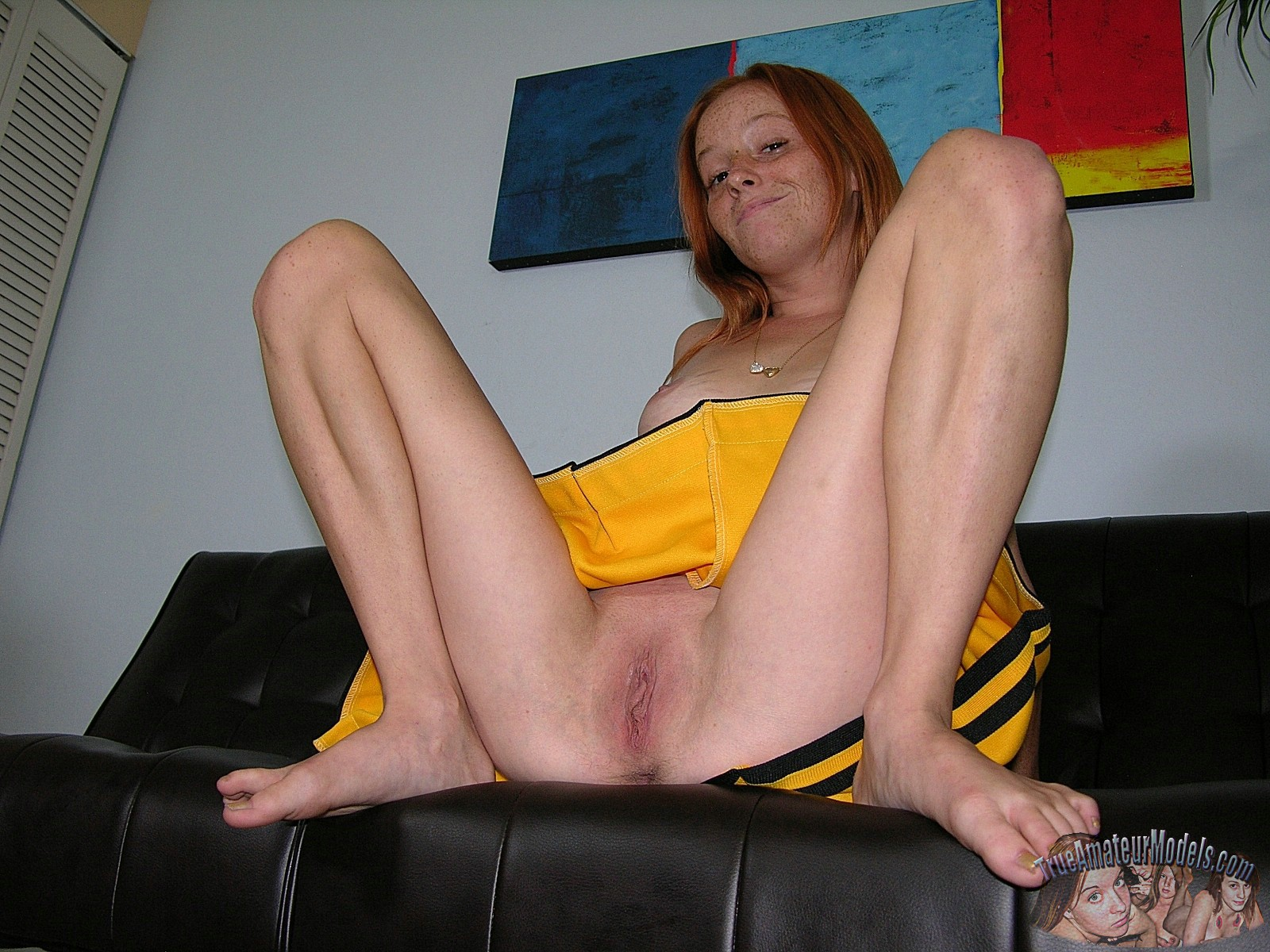 Girl next door redhead