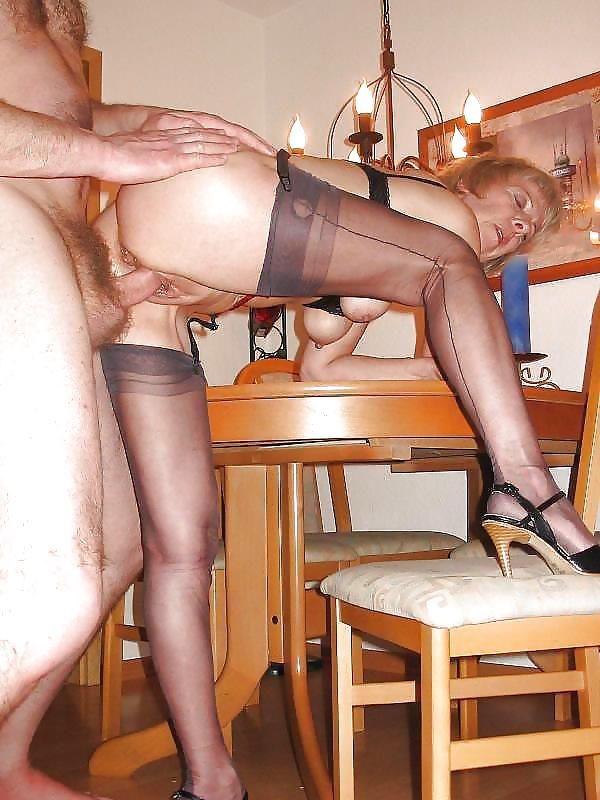 Mature in stockings anal insertion - 71 Pics -