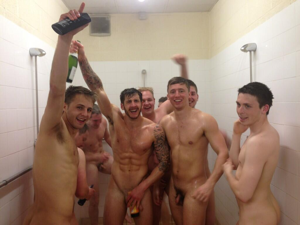 Rugby lads naked