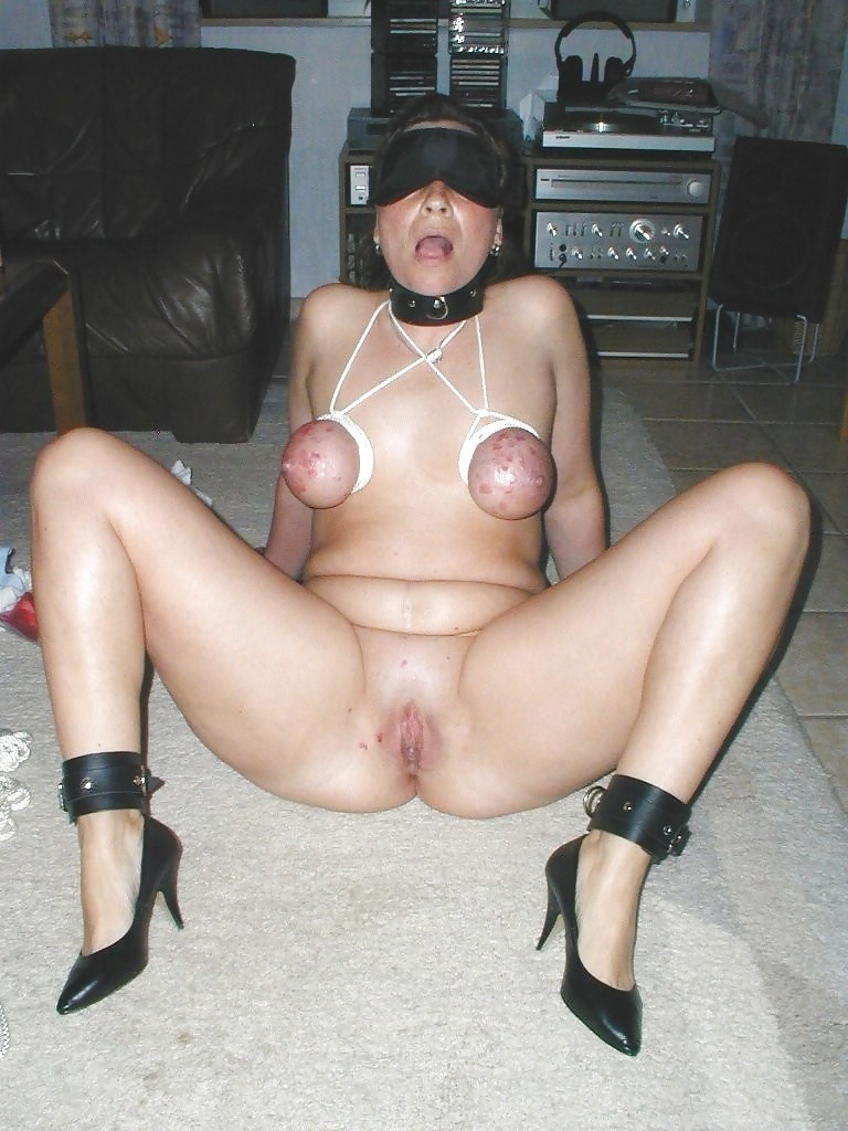 Homemade Bdsm With Tied Up Slut