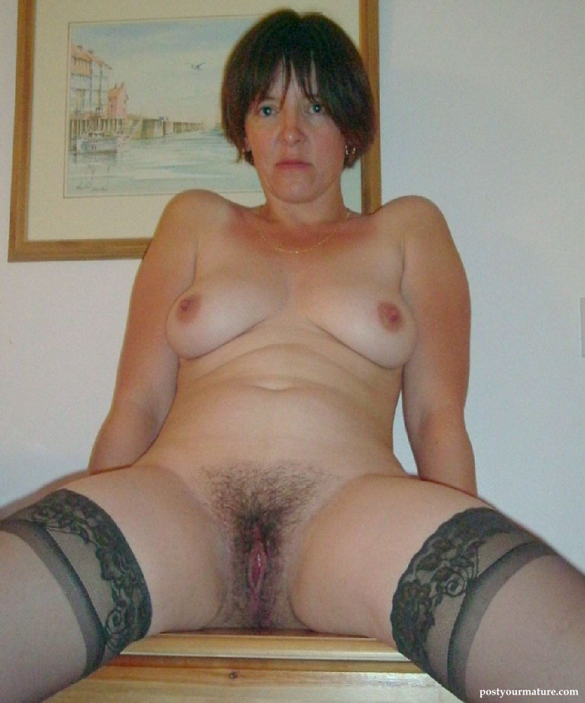 Very Clip fucking hairy mature pussy