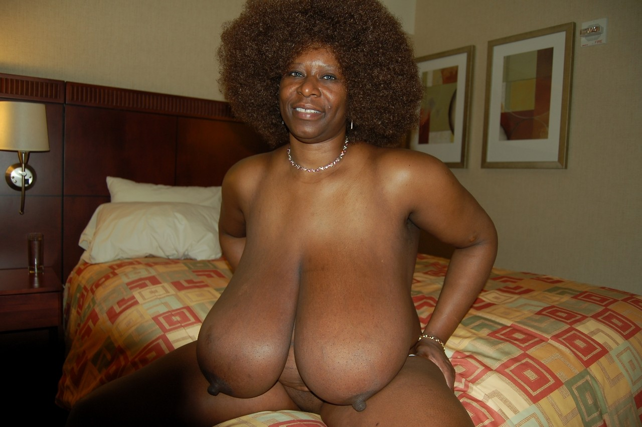 fat black granny saggies - Giant Tit BBWs