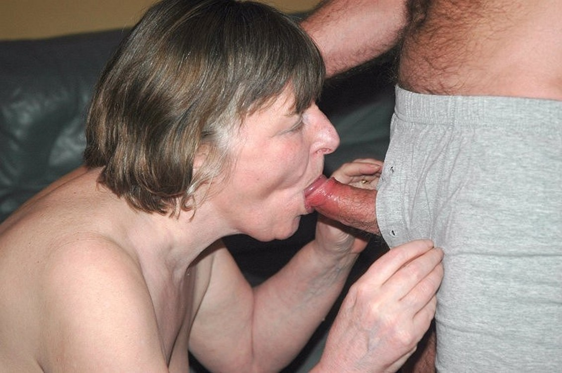 My Friends Mom Sucks My Cock