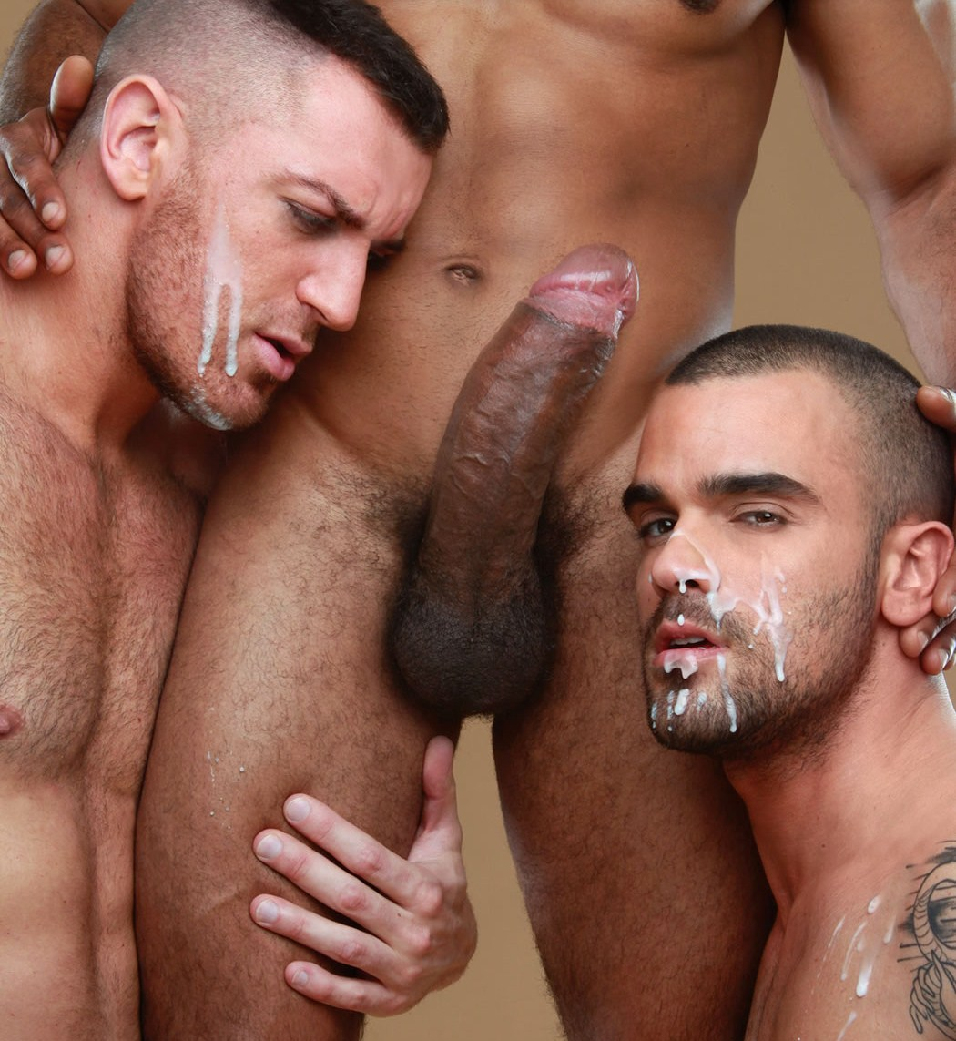 Hairy hung dudes